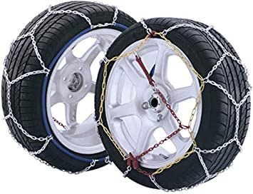 Catene da neve 9 mm per FIAT SEICENTO con pneumatici 175//50//14 Gruppo 3