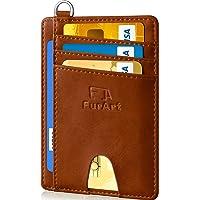 FurArt Billetera Minimalista Delgada (Porta Tarjetas de crédito, Bloqueo RFID, billeteras con Bolsillo Frontal con…