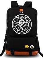 YOYOSHome Anime Fullmetal Alchemist Cosplay Luminous Bookbag College Bag Backpack School Bag
