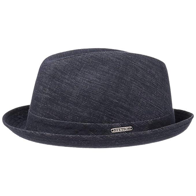 Kane Cotone e Lino Cappello Stetson cappelli in cotone cappelli di tessuto  62 cm - denim  Amazon.it  Abbigliamento 0dd64bd8a92c