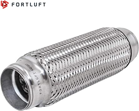 Bellows, 1.75x3.75//45x95mm FORTLUFT Exhaust Flex Connector Pipes /& Belows