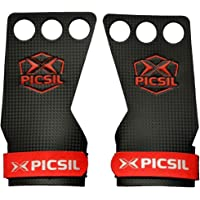PICSIL RX Carbon 3H – Maniques Crossfit pour la Gymnastique, Les Pull-ups, la levée de Poids. Protégez Vos Paumes