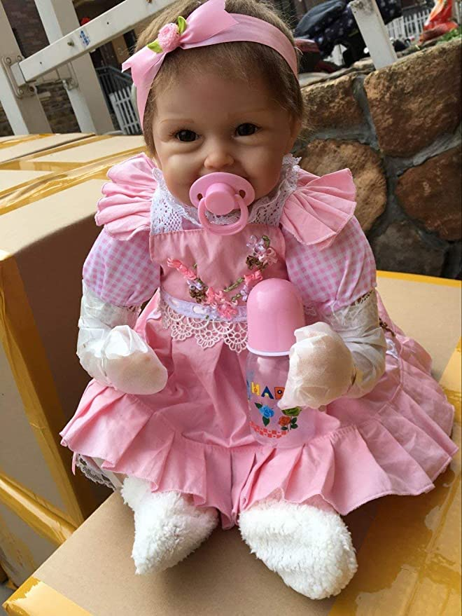 Amazon.com: OCSDOLL - Muñecas de bebé recién nacidas ...