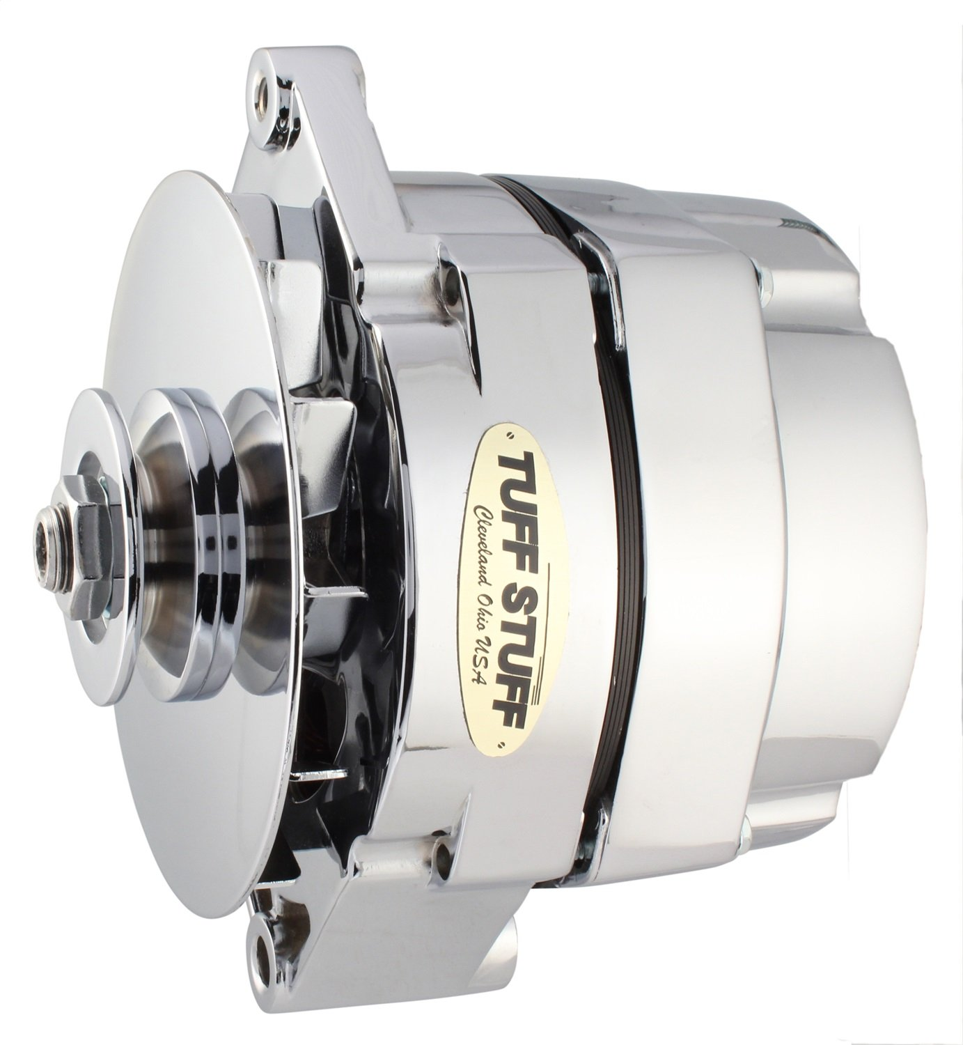 Amazon.com: Tuff Stuff 7127ND Chrome 100 Amp 1-Wire Alternator for ...