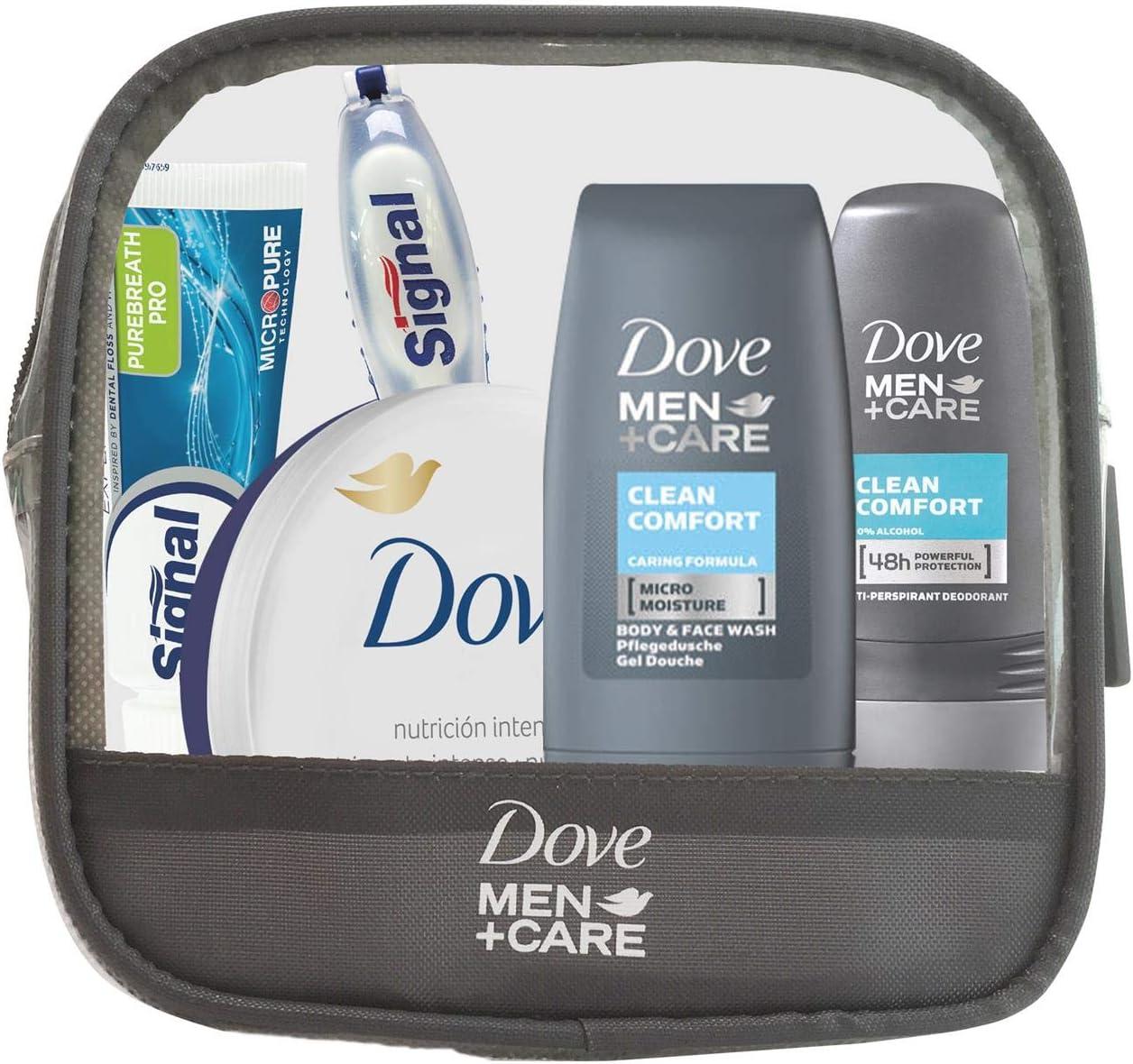 Dove Men+Care Mini neceser viaje: Amazon.es: Belleza