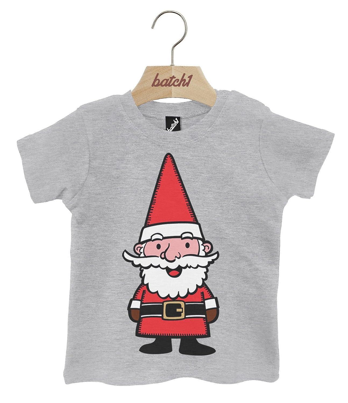 Batch1 Mrs Xmas Pudding Festive Novelty Christmas Popper Neck Baby T-Shirt