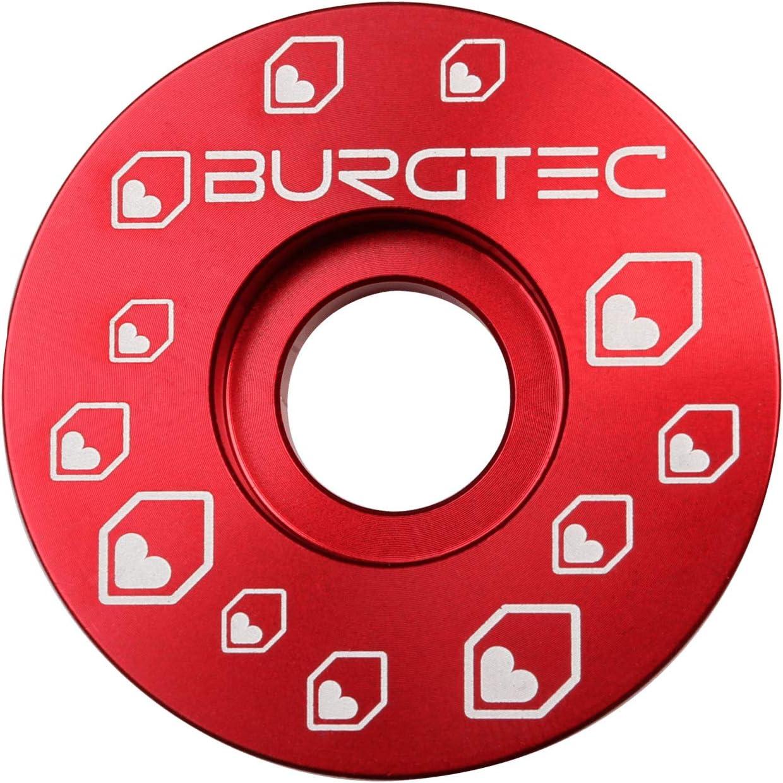 Race Red Burgtec Top Cap