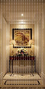 THY COLLECTIBLES Beautiful Home Decor Acrylic Beaded Curtain - Acrylic White Balls