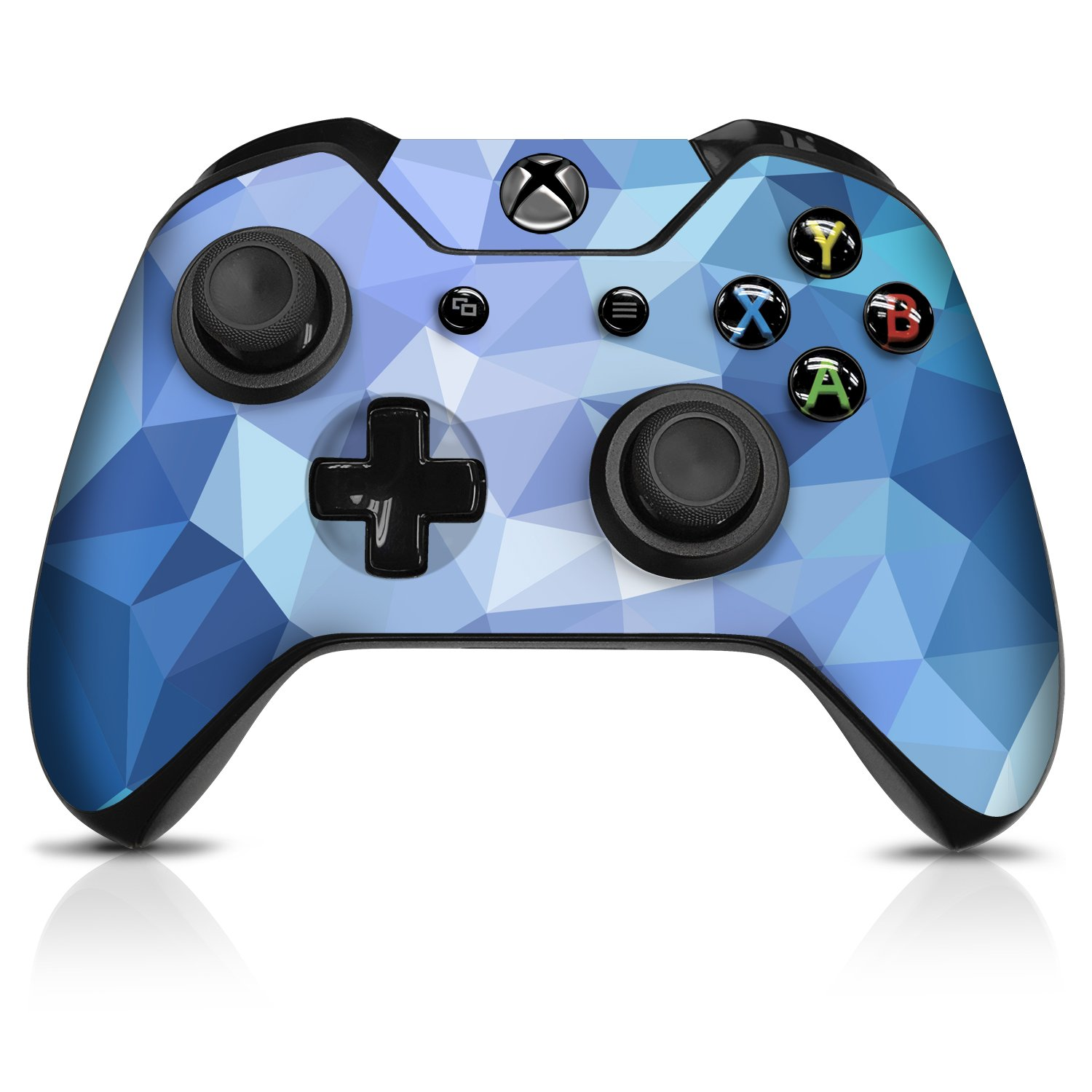 Amazon price history for Controller Gear Controller Skin - Blue Poly - Officially Licensed by Xbox One