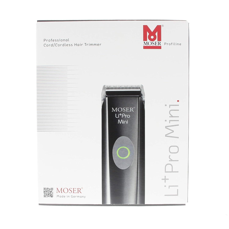 MOSER LI+PRO MINI 1584-0050. Máquina Cortapelo.: Amazon.es: Salud ...