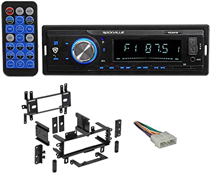 Digital Media Receiver//Radio w//Bluetooth MP3 USB//SD For 87-95 JEEP WRANGLER YJ