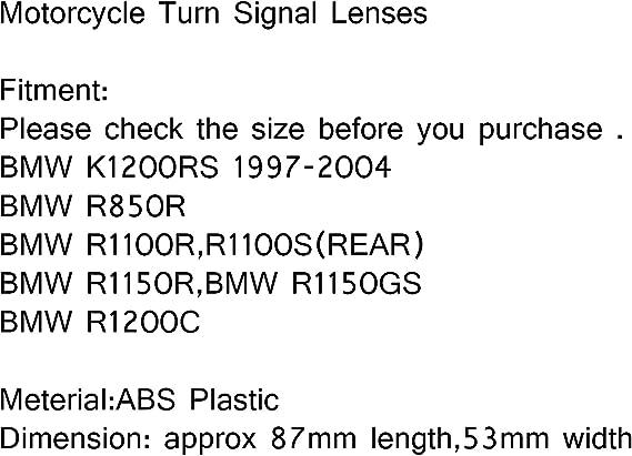 trasera Clear lente motocicleta indicadores Intermitentes para R1100R R850R R1150gs r1150r R1150gs R1200 C R1100S 97-04 K1200RS