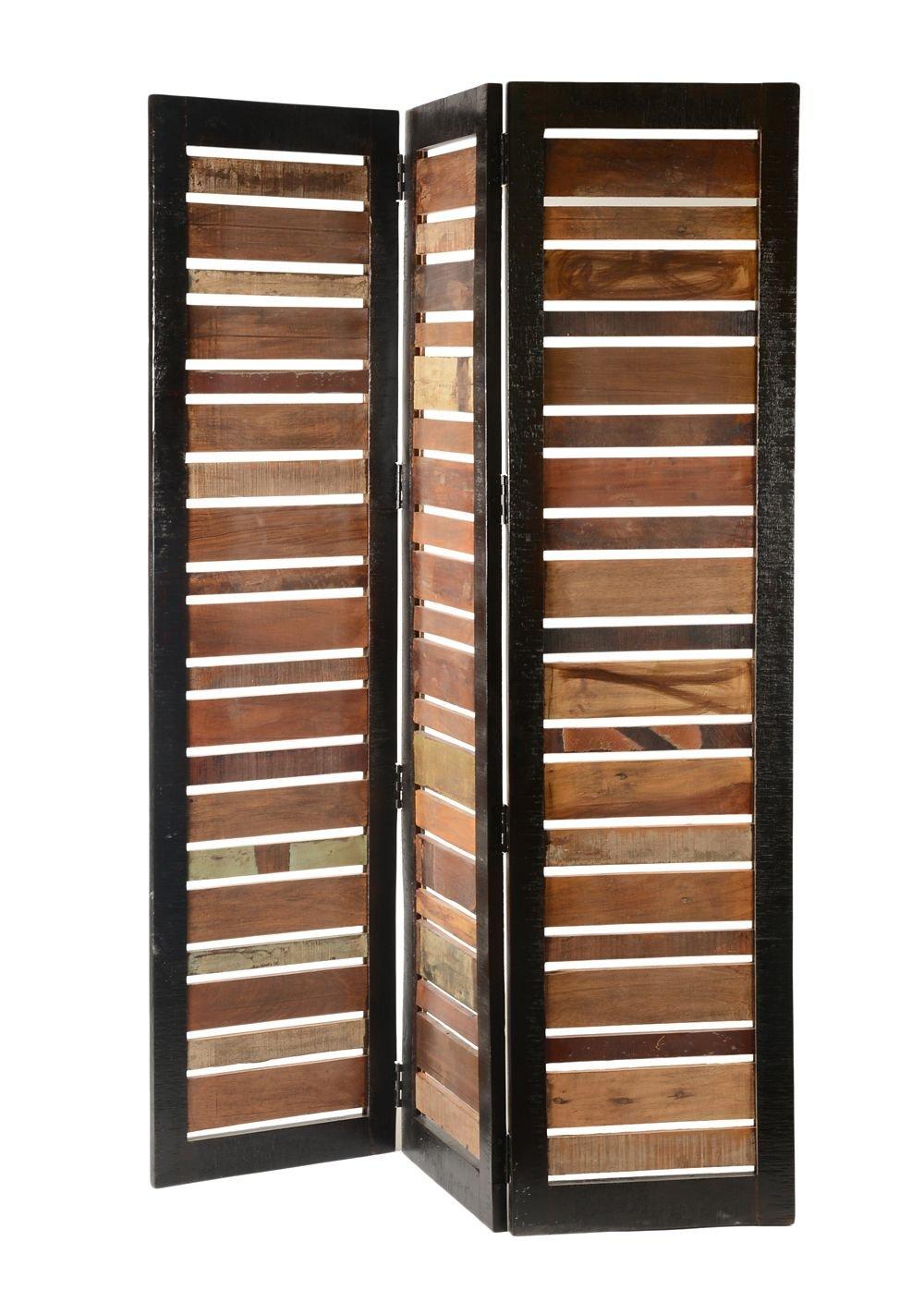 Gypsy Reclaimed Wood Screen Multi Dimensions: 55''W x 2''D x 70''H Weight: 51 lbs