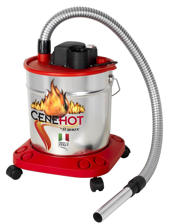 Aspiracenere elettrico maggior protezione ceneri caldeCENEHOT 950 W Ribimex 5554