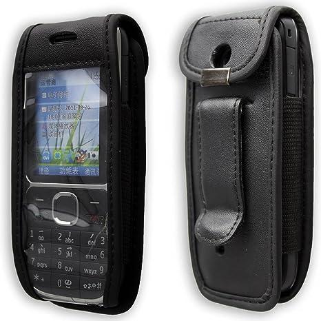 e208f653ea3f0 Cuir Pour Nokia C2-01 Téléphone Mobile Avec Clip Ceinture  Amazon.fr  High- tech