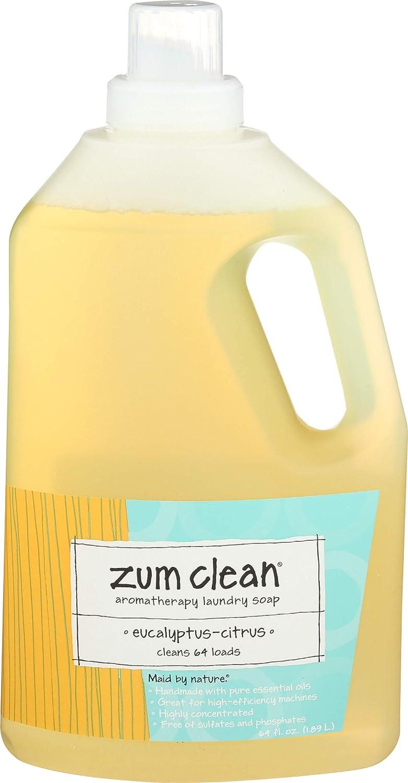 Zum, Laundry Liquid Eucalyptus Citrus, 64 Fl Oz