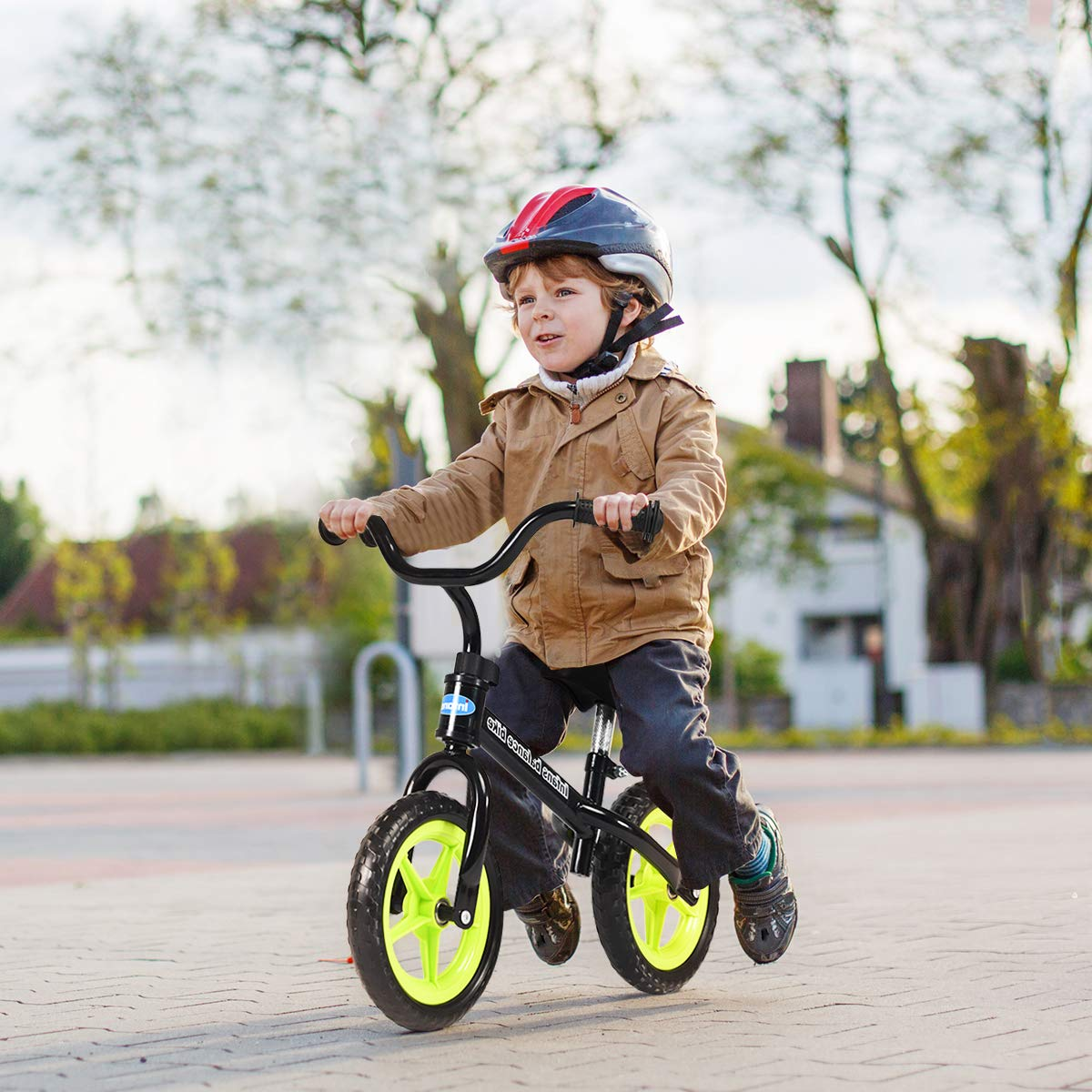 INFANS Lightweight Balance Bike Inflation-Free EVA Tires No-Pedal Pre Walking Bike for Toddler /& Children Ages 2 to 5 Years Kids Training Bicycle with Height Adjustable Seat /& Handlebar