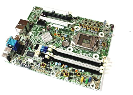 Genuine HP Elite 8200 SFF Desktop System Motherboard LGA 611834-001,  611793-002