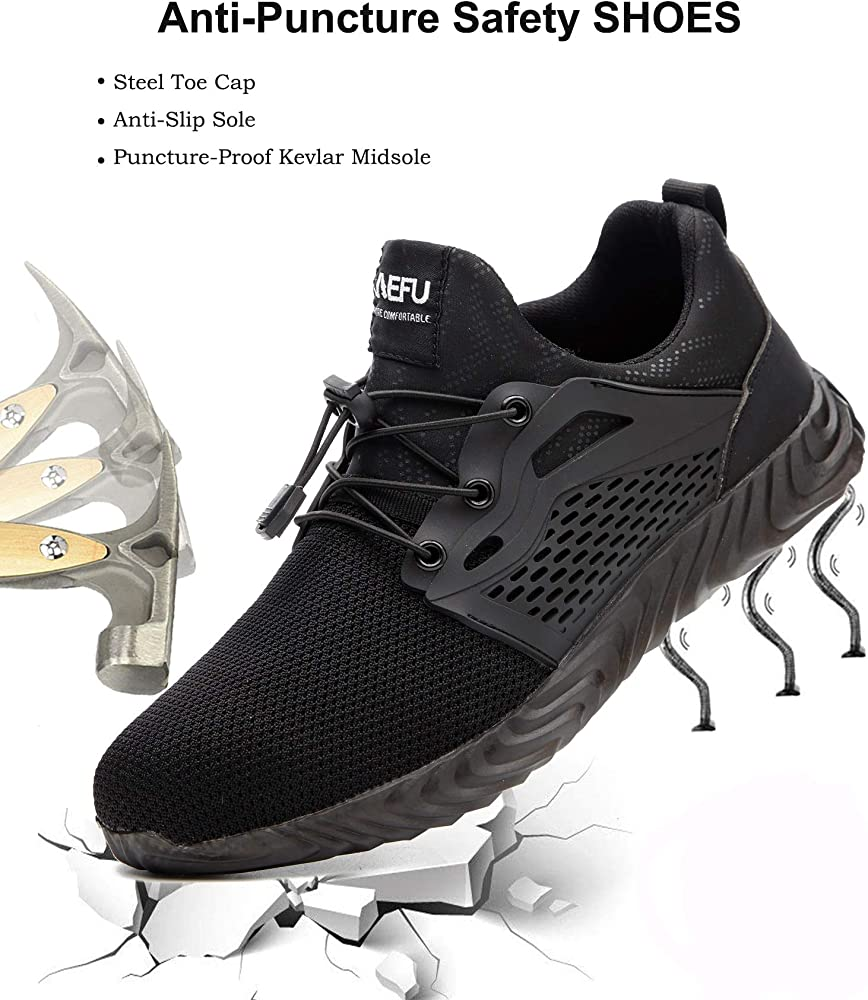 Steel Toe Cap Safety Shoes Work Boots