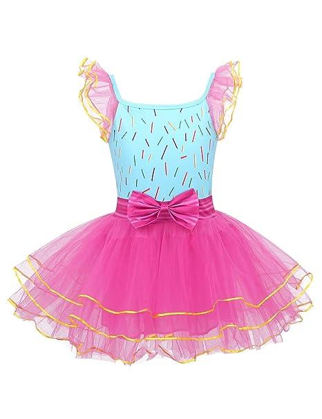 MSemis Vestido de Fiesta Cumpleaños Disfraz de Fancy Nancy ...