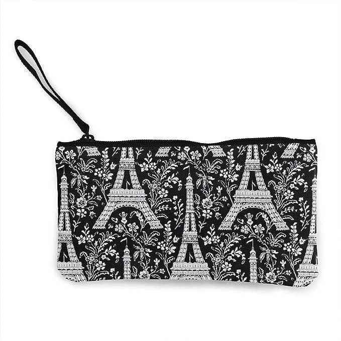 Amazon.com: Monedero de lona para mujer y niña, diseño de la ...