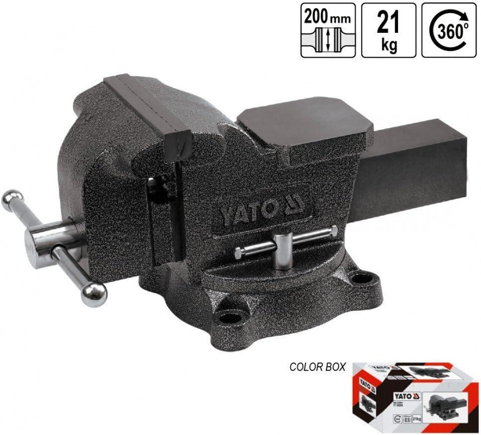 Yato YT-6504 Panca a vite 200 mm tipo pesante