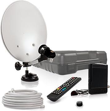 Smart Camp - Equipo de TV por satélite para camping ...