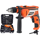 Impact Drill 810Watts Metal Chuck Professional Hammer Drills with Kit Box