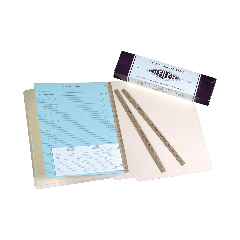 U-File-M Binder Strips- 100/Box