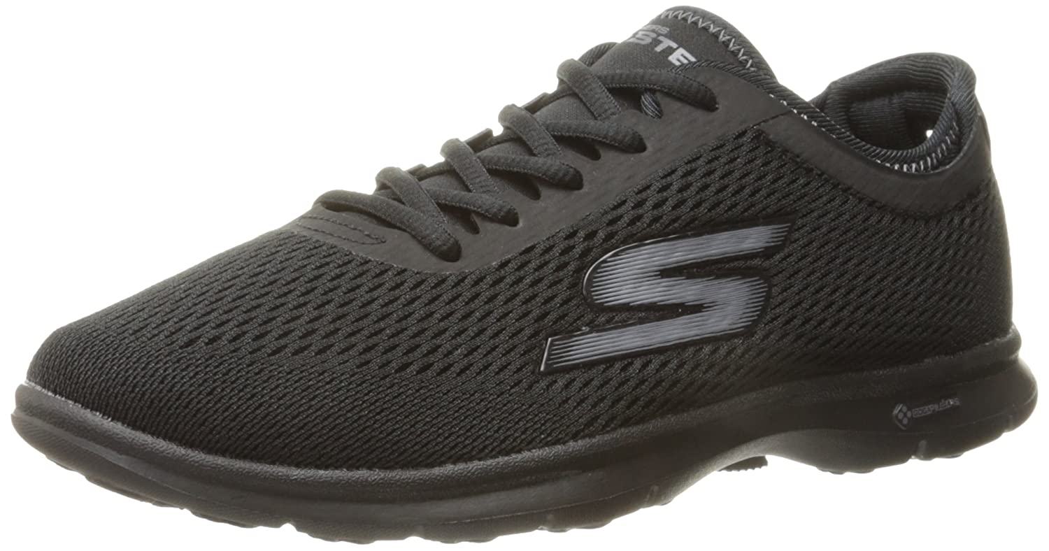 Black Skechers Performance Women's Go Step Lace-Up Walking shoes