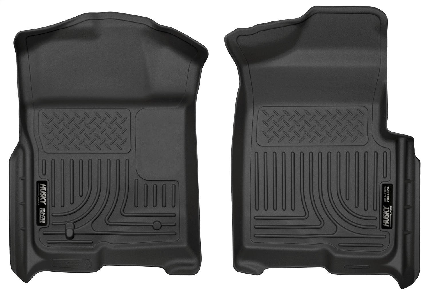 Husky Liners Custom Fit WeatherBeater Front Floor Liner for Select Ford F-150 Models (Black) Winfield Consumer Products 18331