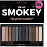 Makeup Revolution London Iconic Smokey Palette, 13g