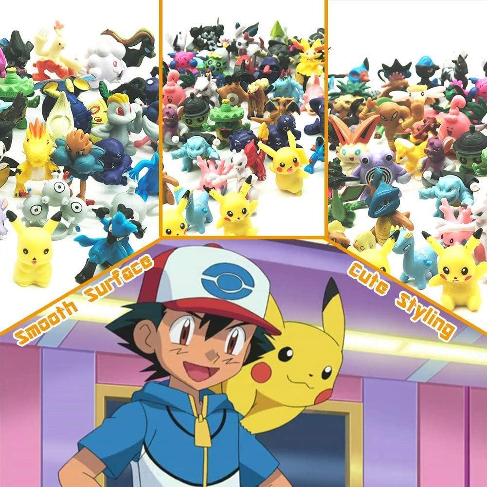 fan/áticos de Pok/émon 120 pcs pok/émon Figuras,Figura de Pokemon Adecuado para Fiestas JIM Regalos