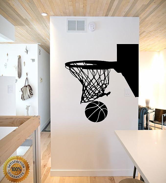 Amazon.com: ditooms calcomanía decorativo para pared canasta ...