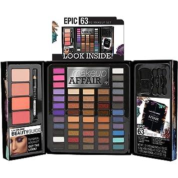 Amazon Com L A Colors Makeup Affair 63 Piece Epic Makeup Set Beauty