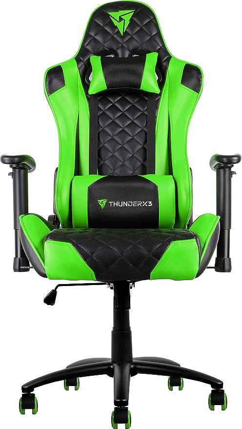 ThunderX3 TGC12, Silla Gaming Profesional, Cuero Sintético ...