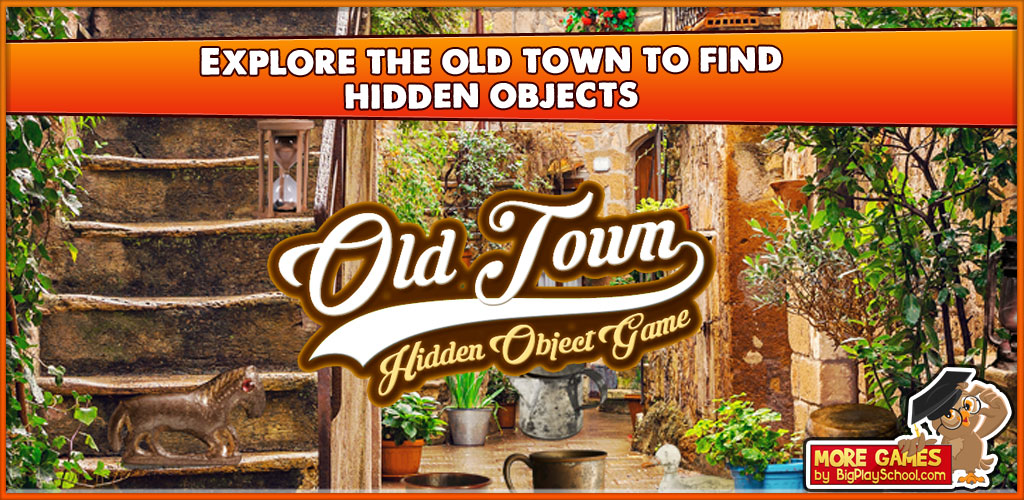 Amazon com: Old Town - Find Hidden Object Game [Download
