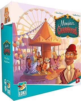 Monsieur Carrousel, Juego de Mesa, Juego cooperativo, Juego de Mesa para niños, Juego Educativo niños: Amazon.es: Juguetes y juegos