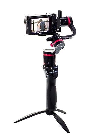 Amazon.com: 3 ejes estabilizador Gimbal para cámaras ...