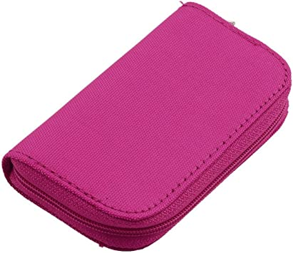 4 Colores SD SDHC MMC CF para Almacenamiento de Tarjeta de Memoria Micro SD Bolsa de Transporte Bolsa Caja Caso Soporte Protector Cartera Tienda al por Mayor (Rosa Rojo) ESjasnyfall: Amazon.es: Electrónica