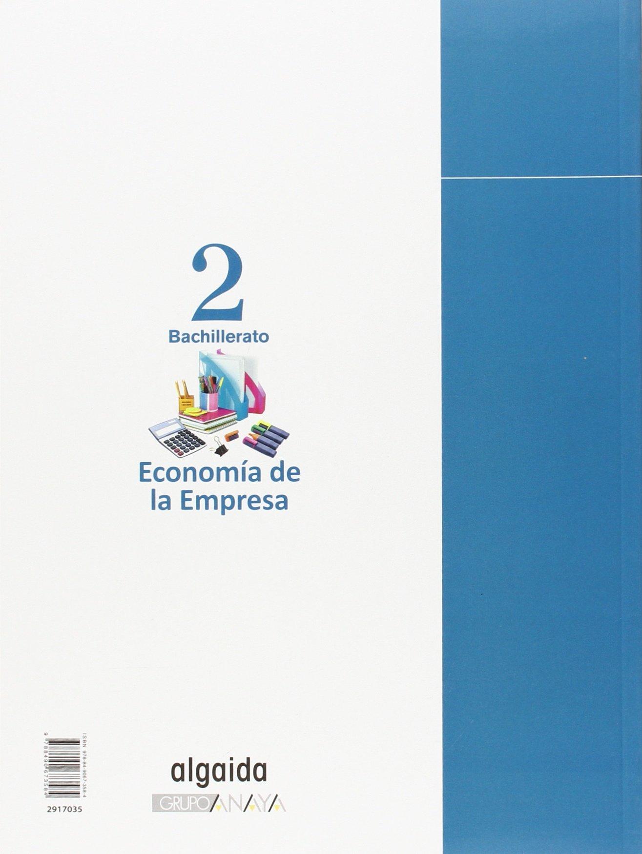 Economía de la empresa 2º Bachillerato - 9788490673584 Bachillerato L.O.G.S.E. 2º: Amazon.es: Ridao González, José Miguel: Libros