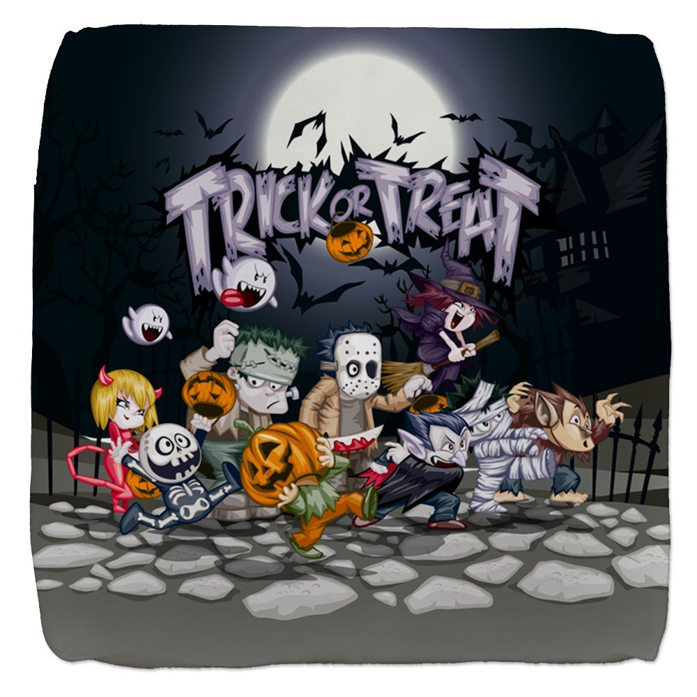 18 Inch 6-Sided Cube Ottoman Halloween Trick or Treat Costumes