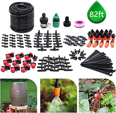DIG Drip and Micro Sprinkler Kit Easy to Install and Use No More Waste of Water