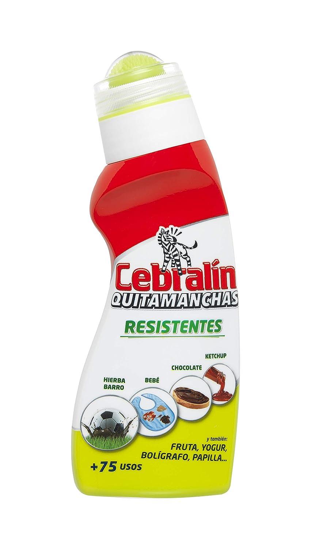 Cebralín - Quitamanchas Resistentes, Elimina manchas en Textiles, Lote de 8 x 150 ml - Total: 1200 ml: Amazon.es: Salud y cuidado personal