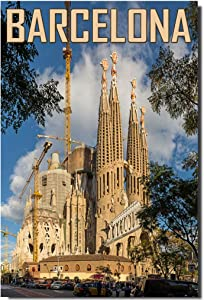 Sagrada Familia Fridge Magnet Barcelona Travel Souvenir Spain