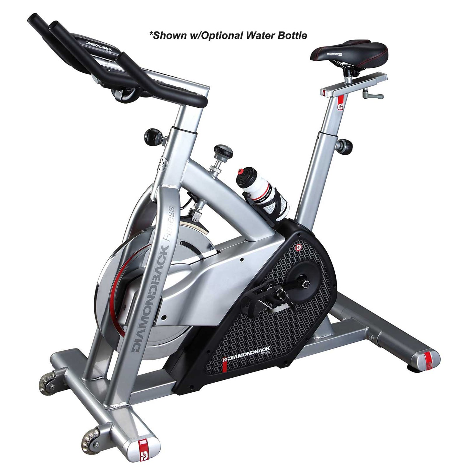 Diamondback Fitness 510Ic Adjustable Indoor Cycle with Electronic Display and Quiet Magnetic Flywheel by Diamondback Fitness