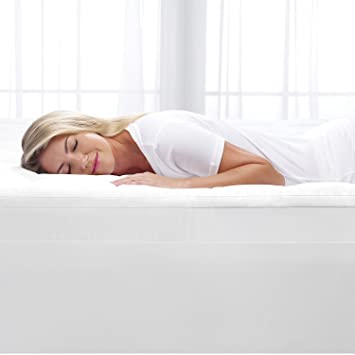 Amazon Com Sertra 4 Pillow Top And Memory Foam Mattress Topper