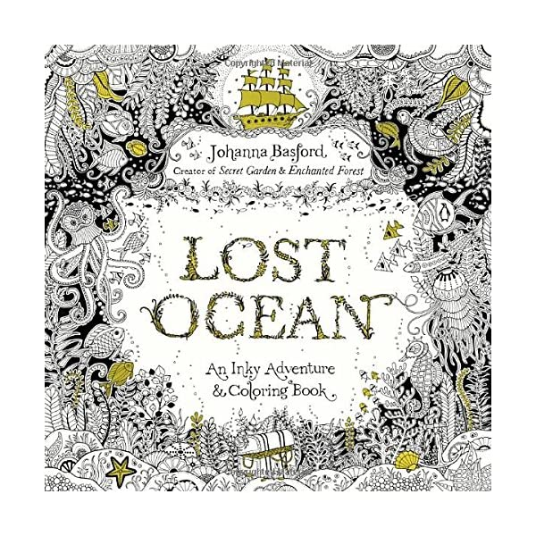 Coloring Book Lost Ocean Teens