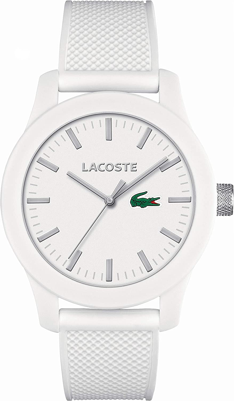 Lacoste 2010765, Reloj Analógico de Pulsera para Hombre, Correa de Silicona