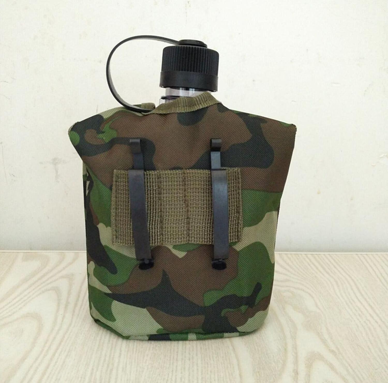 ZGBZZ Outdoor-Wasserkocher, Isolierhülle, Tassen, Lunch-Boxen, drei Sätze Wasser, Aluminium